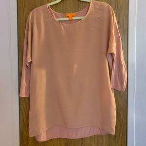 🌺Joe Fresh Pink blouse size Large🌺